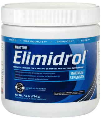 Elimidrol Nighttime Bottle
