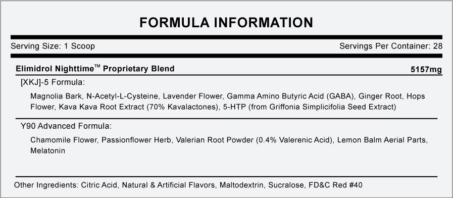 Nighttime Formula