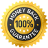 Money Back Guarantee Stamp - Transparent
